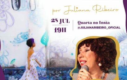 O Som das Pretas Brasileiras recebe Marilda Santanna nesta quarta-feira