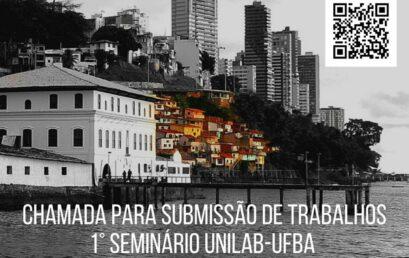 I Seminário Unilab-UFBA de Relações Internacionais recebe submissões de trabalhos até 3 de setembro