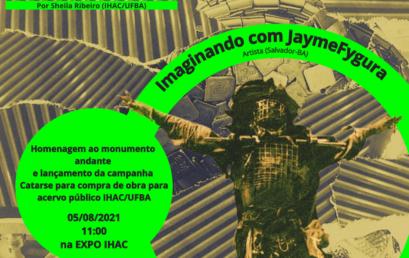 """Encontro """"IMAGINANDO COM"""" homenageia JaymeFygura e faz campanha para aquisição de obra"""