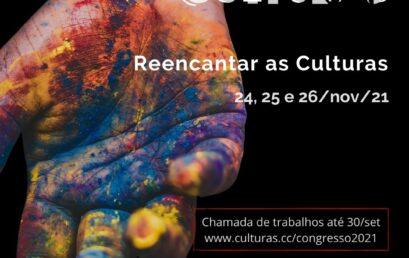 VII Congresso Internacional sobre Culturas recebe propostas de trabalhos até o dia 30/09