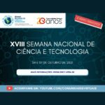 Comunidades Virtuais realiza XVIII Semana Nacional de Ciência e Tecnologia em outubro deste ano