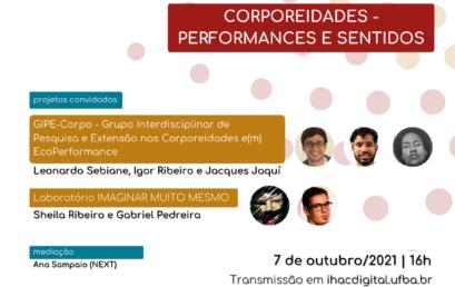 """Programa Conexões desta semana apresenta projetos sobre o tema """"Corporeidades – sentidos e performances"""""""